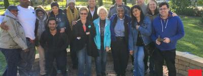 Participants of PBMR's Forgiveness Circle, including founder Fr. David Kelly