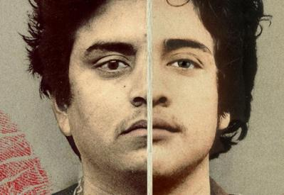 The faces of Carlos DeLuna and Carlos Hernandez, side by side