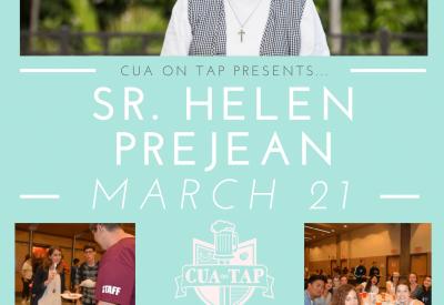 Flyer of Sr. Helen Prejean