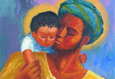 Artwork by Sr. Richard Mehren, CSJ; courtesy of MinistryOfTheArts.org