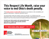 Ohio Respect Life Month Bulletin Insert